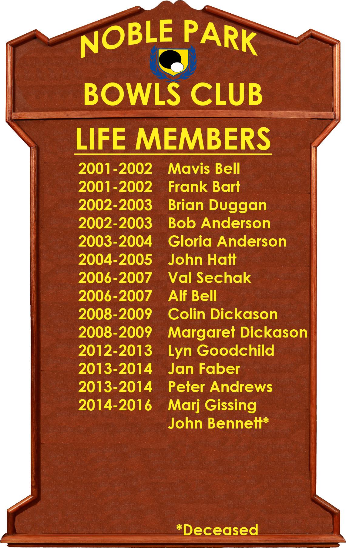 honor board