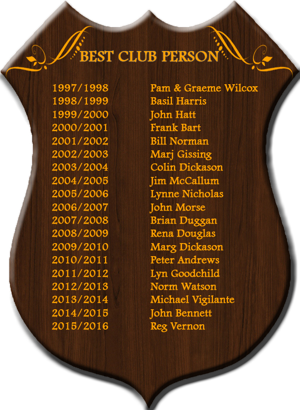 Best Club Person